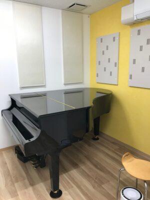 ピアノレッスン室 ヤマハ調音パネルTCH設置